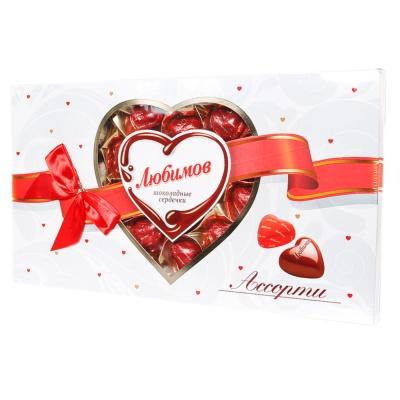 Lubimov Heart-Shaped Milk Chocolate 225g