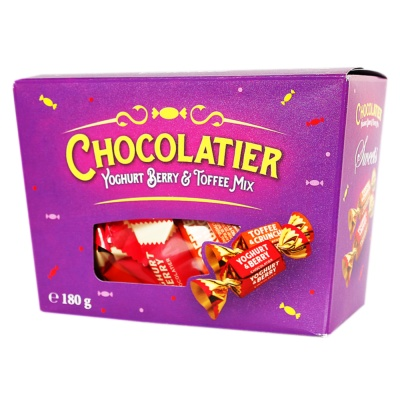 Lubimov Yogurt Berry&Toffee Assorted Candy Box 180g