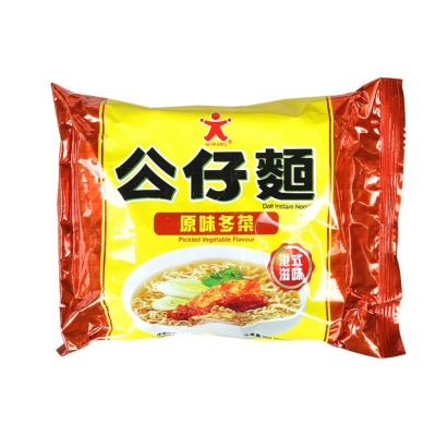 Doll Pickled Vegetable Flavor Instant Noodles 103g