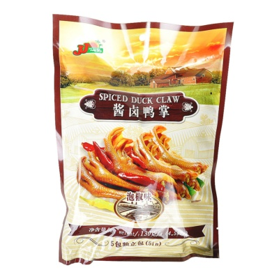 JJ Spiced Duck Claw Spicy Flavor 130g