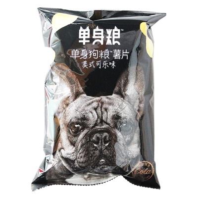 Single Dog American Cola Flavor Chips 70g