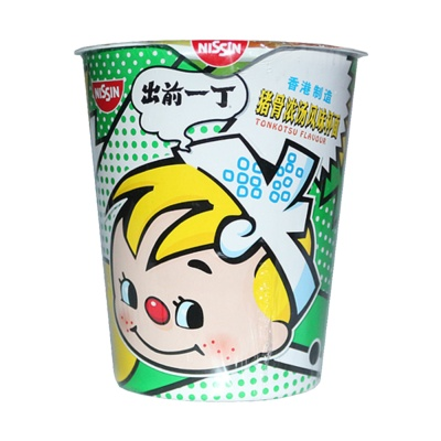 Nissin Tonkotsu Flavored Instant Noodles 77g