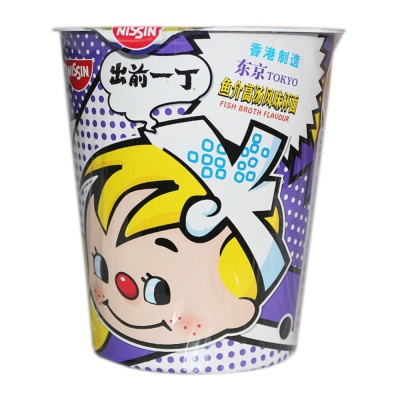 Nissin Fish Broth Flavored Instant Noodles 75g