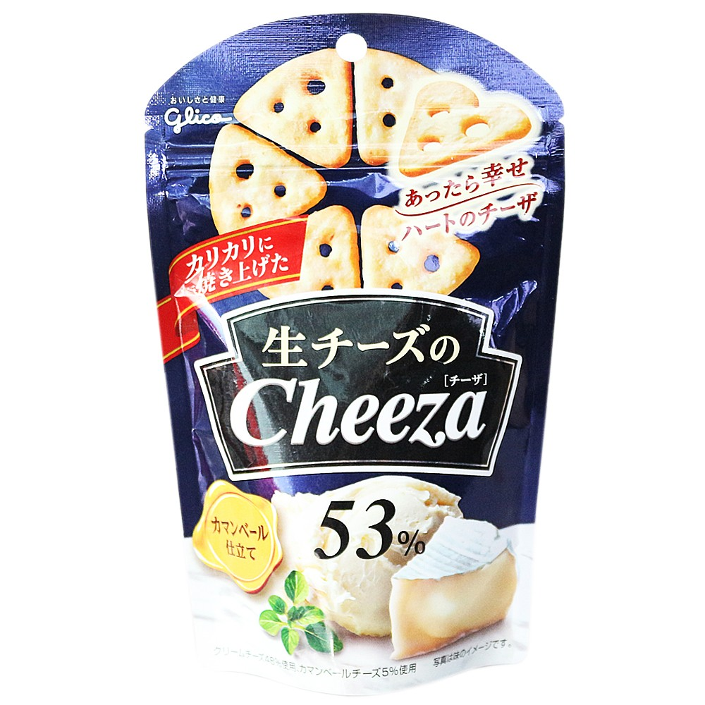 Glico Cheese Triangle Biscuits 40g