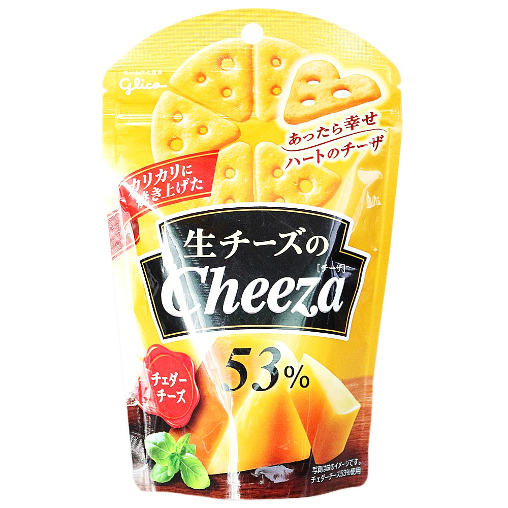Glico Cheddar Cheese Triangle Biscuits 40g