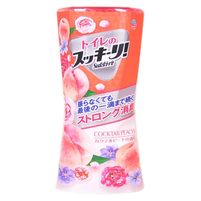 Sukki-ri Deodorant Cocktail Peach 400ml