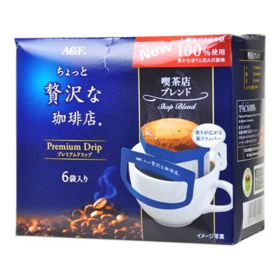 AGF Premium Drip Shop Blend Coffee 48g(8g*6)