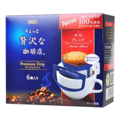 AGF Premium Drip Mocha Blend Coffee 48g(8g*6)