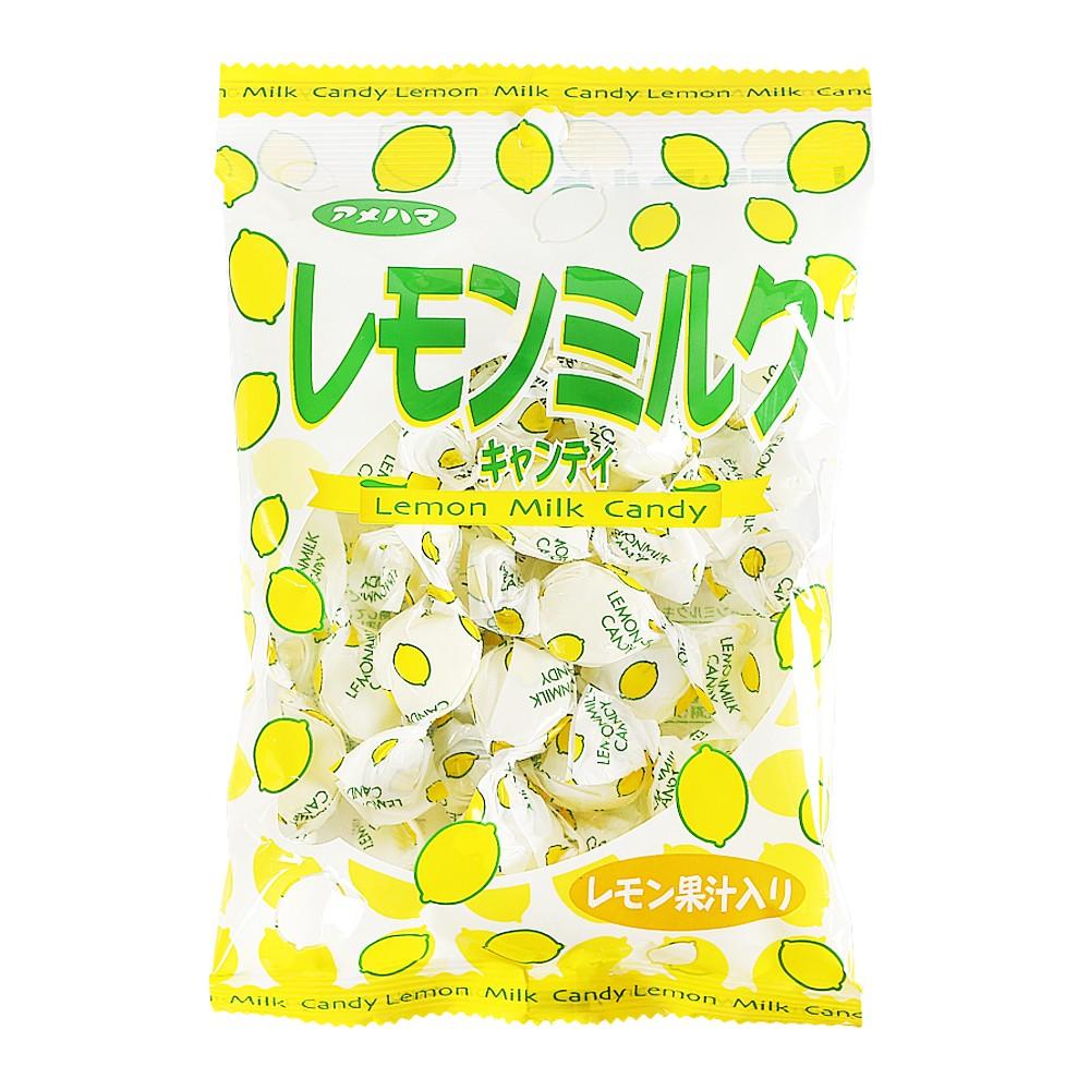Amehama Lemon Milk Candy 95g