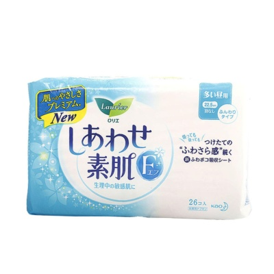 Laurier Sanitary Pads without Wings 22.5cm 26p