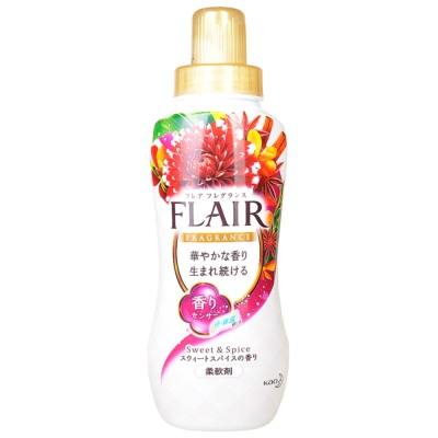 Kao Flair Sweet&Spice Fabric Softener(White) 570ml