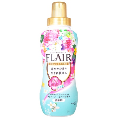 Kao Flair Flower&Harmony Fabric Softener(Green) 570ml