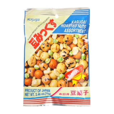 Kasugai Roasted Nuts Assortment 63g