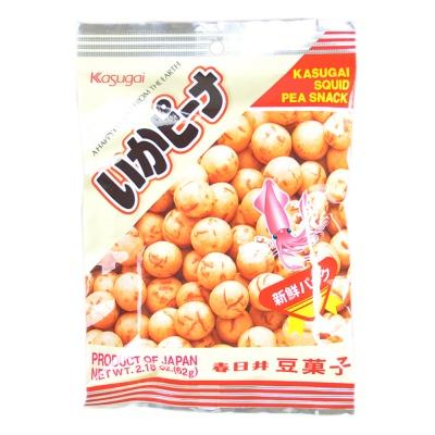 Kasugai Squid Pea Snack 68g
