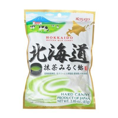 Kusugai Hokkaido Matcha Milk Candy 81g