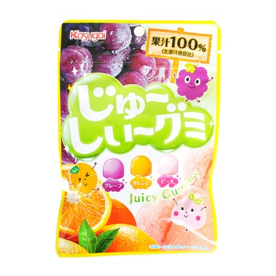 Kasugai Juicy Gummy 53g