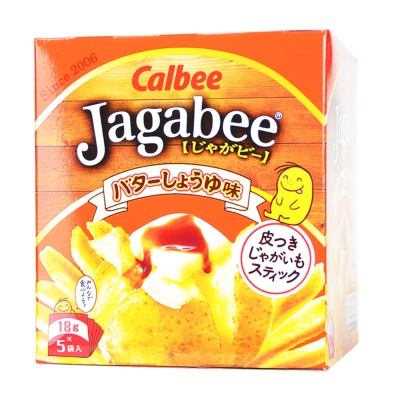 Cabee Jagabee Butter Soy Sauce Fries 90g
