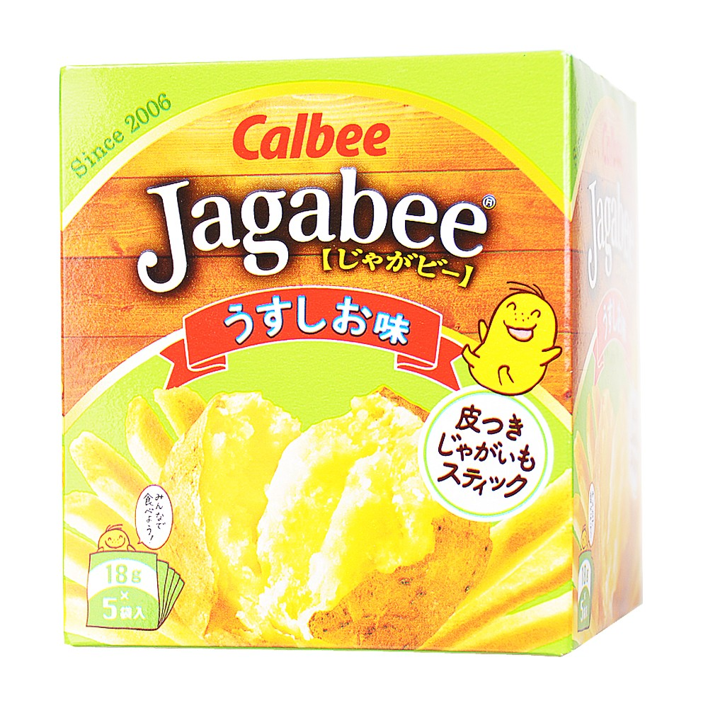 Cabee Jagabee Salty Fries 90g