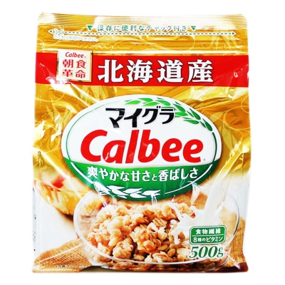 Calbee Mixed Cereal 500g