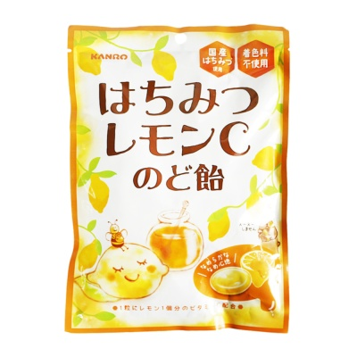 Kanoro Honey Lemon Candy 86g
