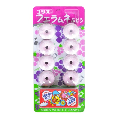 Coris Grape Flavored Whistle Candy 22g