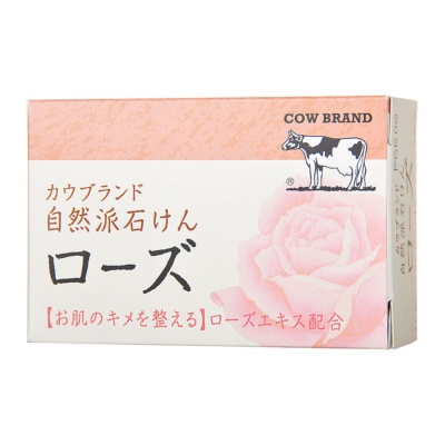 Cow Brand Natural Rose Soap 100g