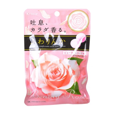 Kracie Rose Fragrance Candy 32g