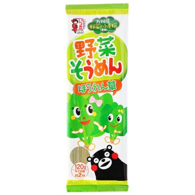 Itsuki Spinach Flavor Noodle 120g
