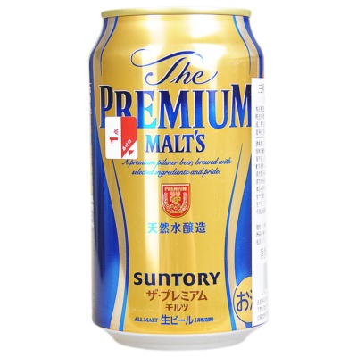 Suntory Premium malt's 350ml