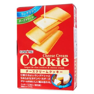 三立奶酪味夹心饼干 90g
