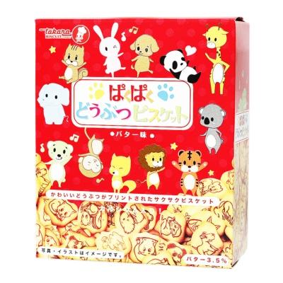Takana Cartoon Animal Shaped Biscuit 50g