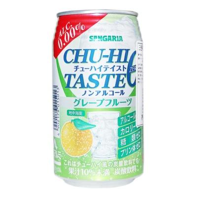 三佳利葡萄柚果汁风味碳酸饮料 350g