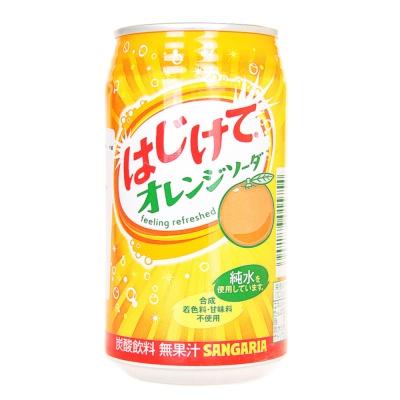 Sangaria Oringe Flavored Soda Drink 350g