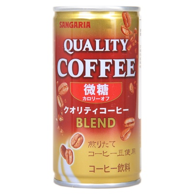 Sangaria Qualitty Low Suger Blend Coffee 185ml