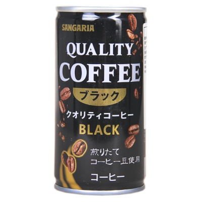 Sangaria Qualitty Black Coffee 185ml