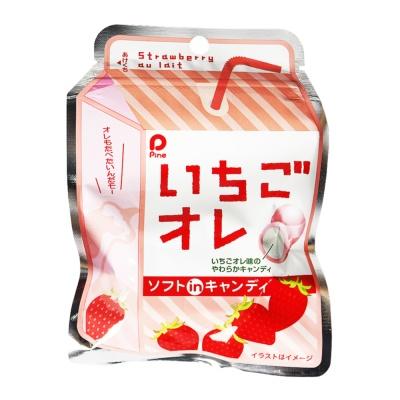 Pine Strawberry Milk Sandwich Soft Candy 35g