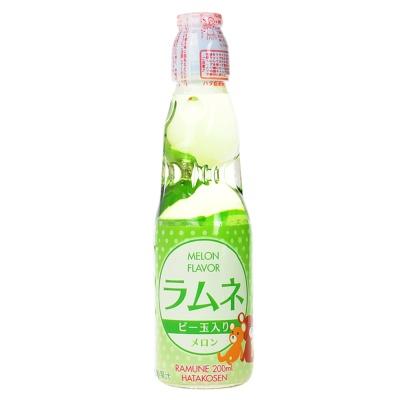 Hatakosen Melon Flavor Ramune Soda 200ml