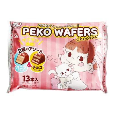 Peko Wafers (Chocolate&Vanilla) 101g