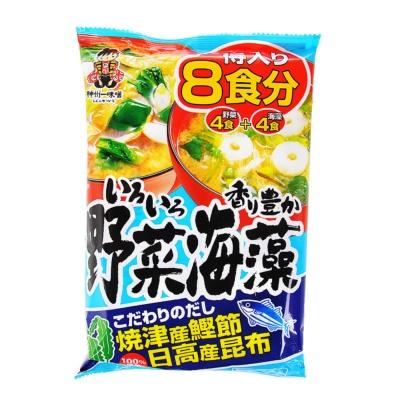 Shinshiyuraichi Vegetable Seaweed Miso 190.4g