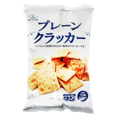 三矢盐味谷物消化饼干 100g