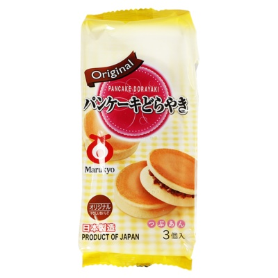 Marukyo Japanese Red Bean Sandwich Cake 155g