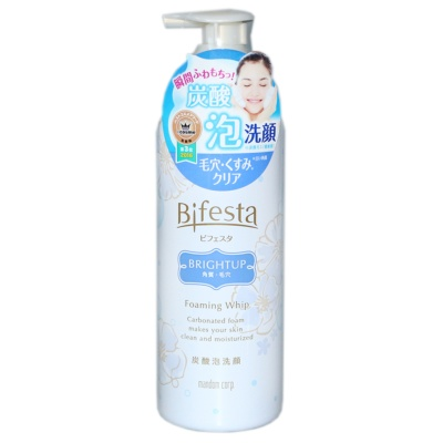 Bifesta Brightup Cleansing mousse 180g