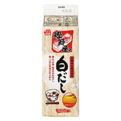 Marutomo Skipjack Flavored Sauce 500ml