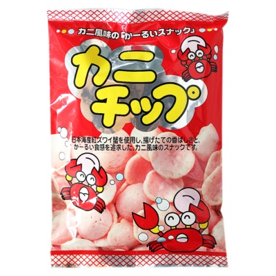 Japanese Crab Flavor Chips 50g