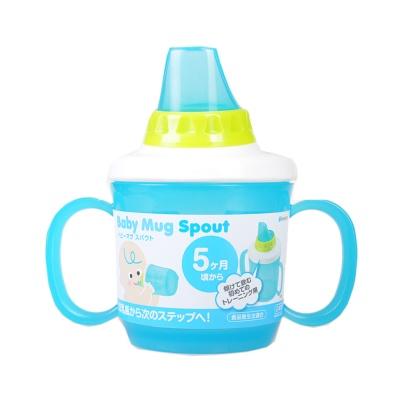 樱花汇儿童塑料壶嘴水杯-蓝色 230ml