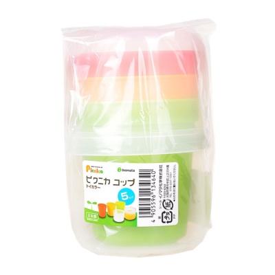 Inomata Plastic Portable Cup DIA7.9*12