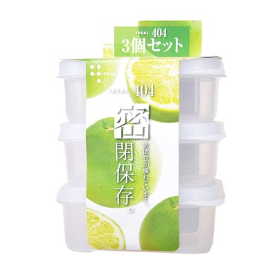 Inomata Food Container 220ml 3p