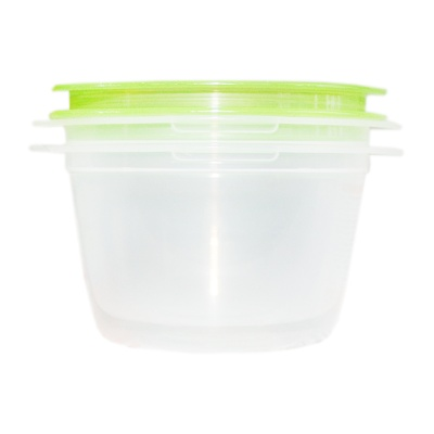 Inomata Round Crisper (Green) 270ml*2