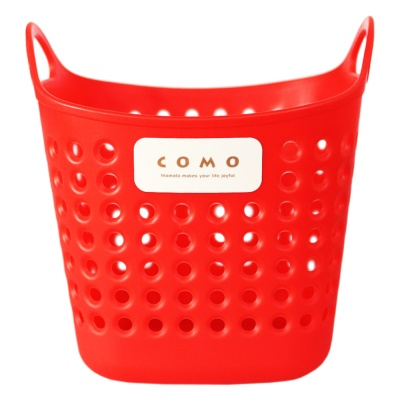 Como Storage Basket Square Red