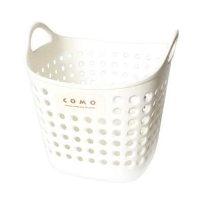 Inomata Como Square Basket(White) 1p